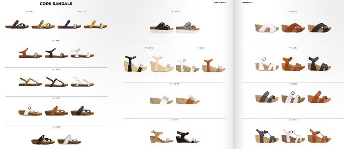 Primadonna scarpe con suola di sughero