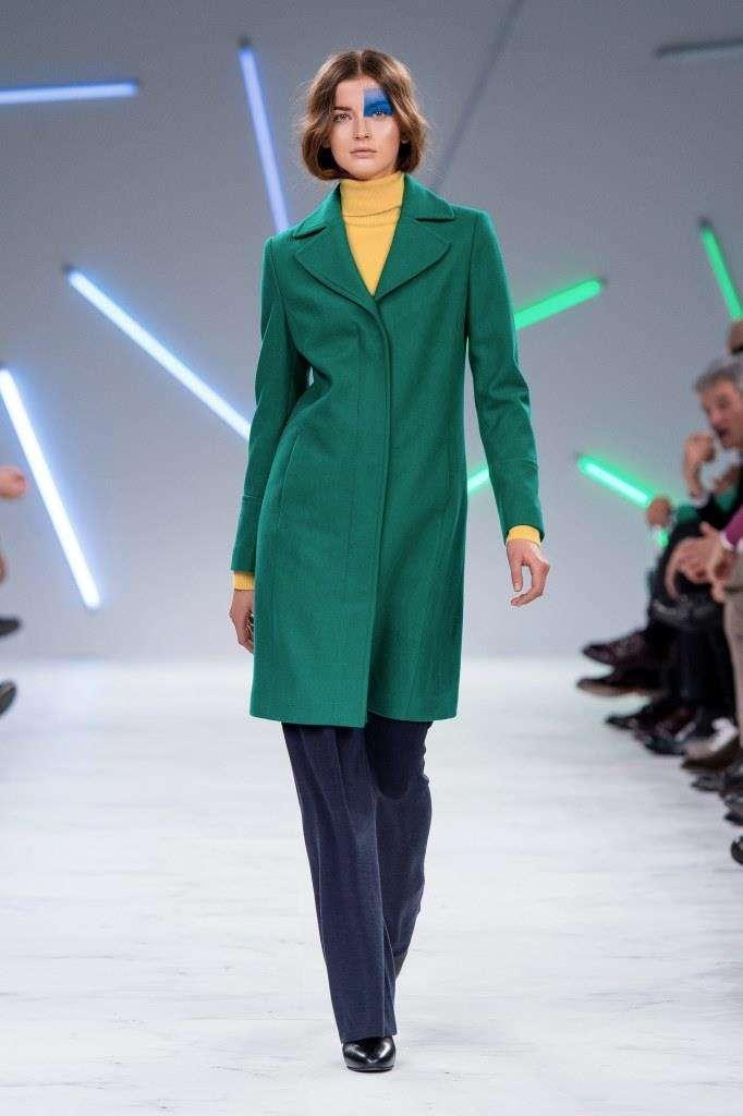 Cappotto verde Benetton