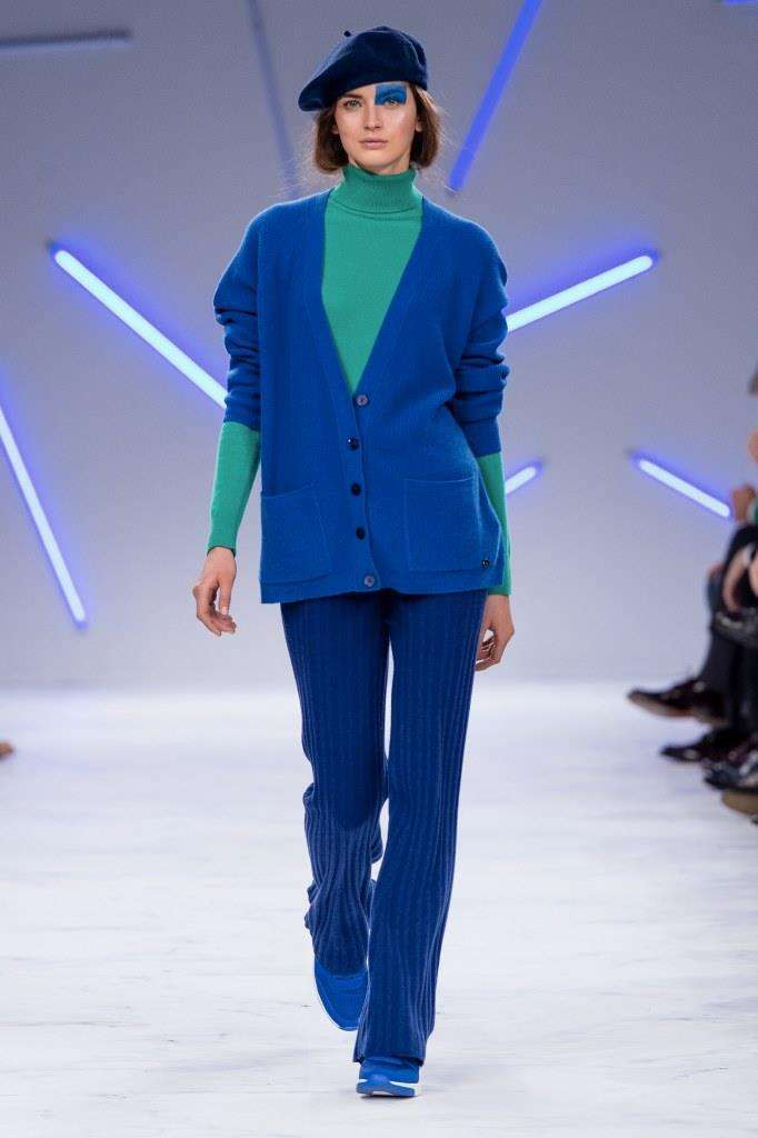Cardigan blu Benetton