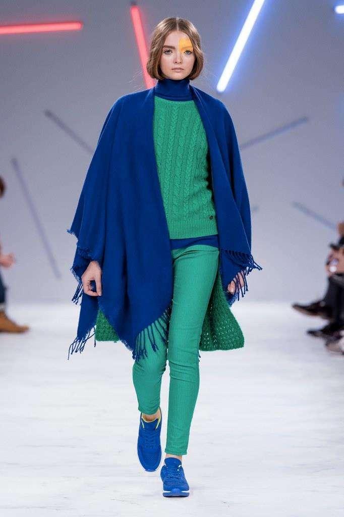 Mantella blu benetton autunno inverno 2016 2017 moda con for Benetton catalogo 2017