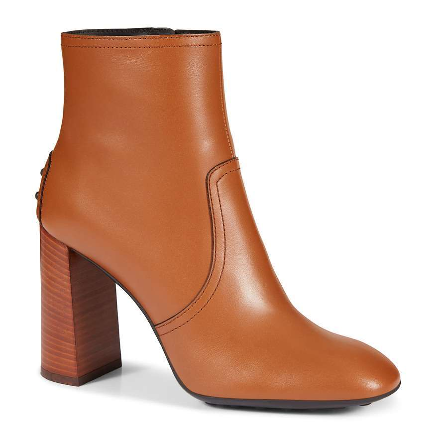 Ankle Boot In Pelle Tods Autunno Inverno 2017