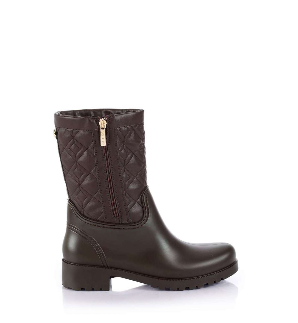 Biker Boot Marroni Guess Autunno Inverno 2017