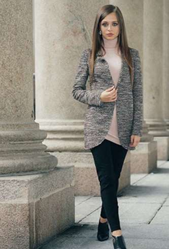 Cappotto In Tweed Nadine Autunno Inverno 2017