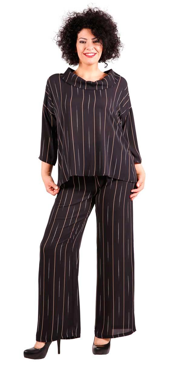 Completo Blusa Pantaloni Lattementa Autunno Inverno 2017