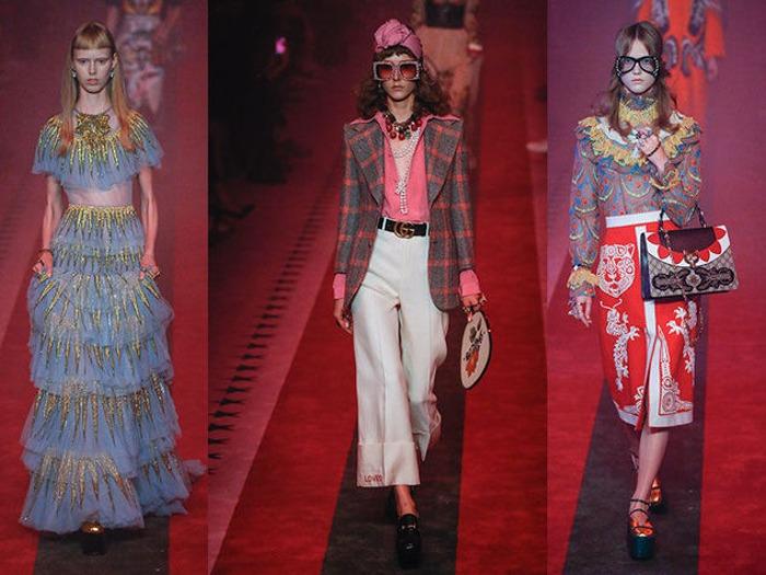 Gucci Collezione Donna Primavera Estate 2017