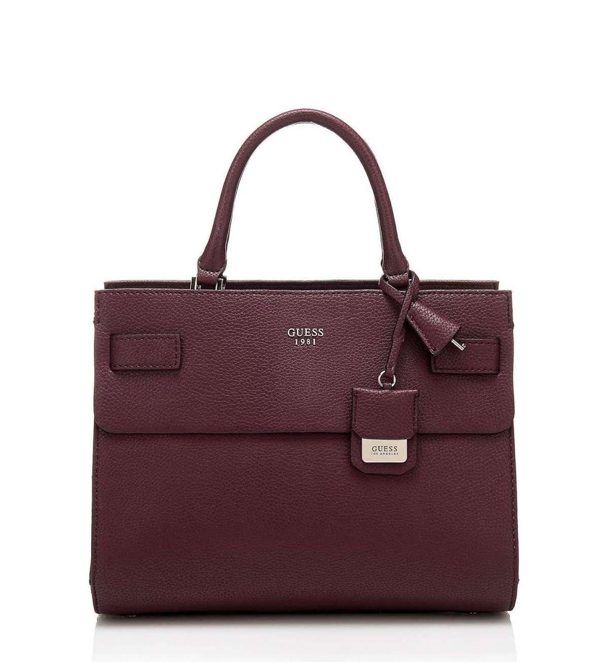 Handbag Borgogna Scuro Guess Autunno Inverno 2017