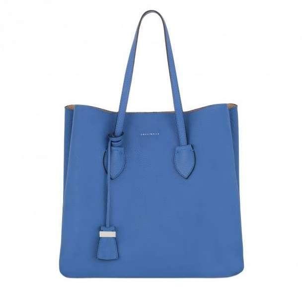Maxi Shopper Blu Coccinelle Autunno Inverno 2017