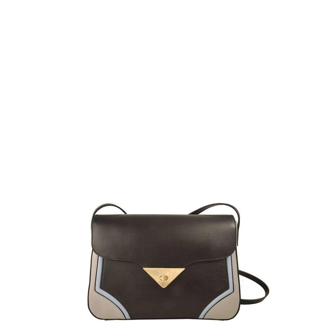 Mini Bag In Color Block Tosca Blu Autunno Inverno 2017