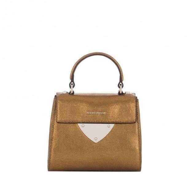 Mini Handbag Bronzo Coccinelle Autunno Inverno 2017
