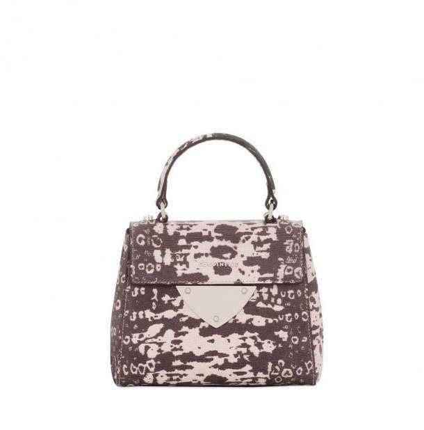 Mini Handbag In Rettile Coccinelle Autunno Inverno 2017