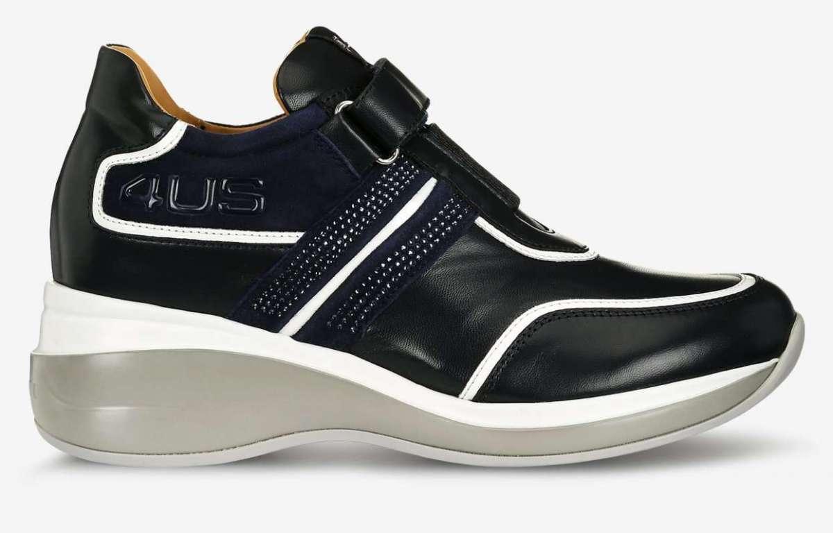 Sneakers In Pelle Cesare Paciotti Autunno Inverno 2017