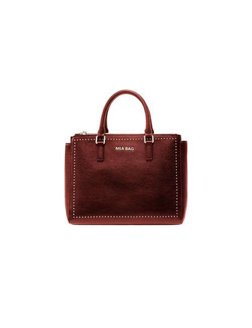 Tote Color Ruggine Mia Bag Autunno Inverno 2017