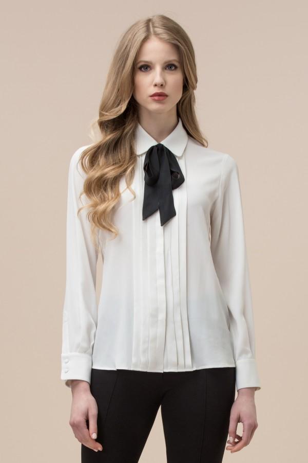 Camicia Con Fiocco Luisa Spagnoli Inverno 2017