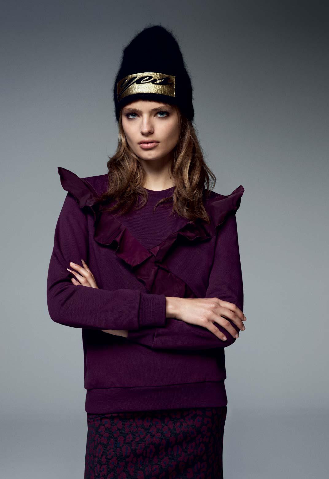 Camicia Con Rouche Pinko Autunno Inverno 2017