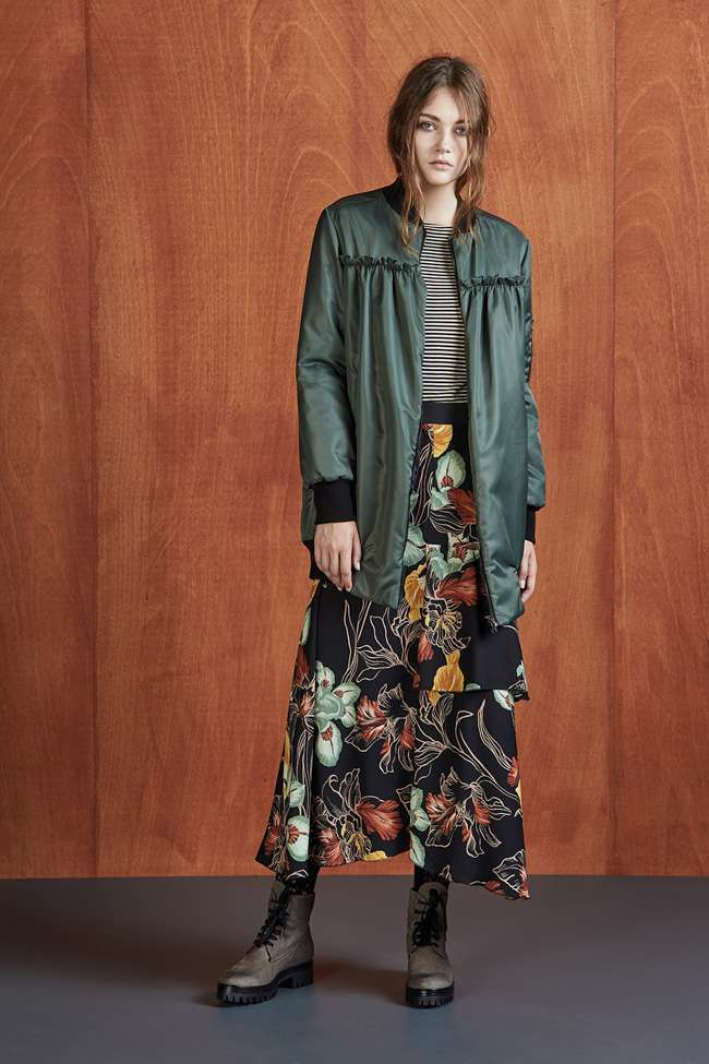 Long Skirt Floreale Dixie Autunno Inverno 2017