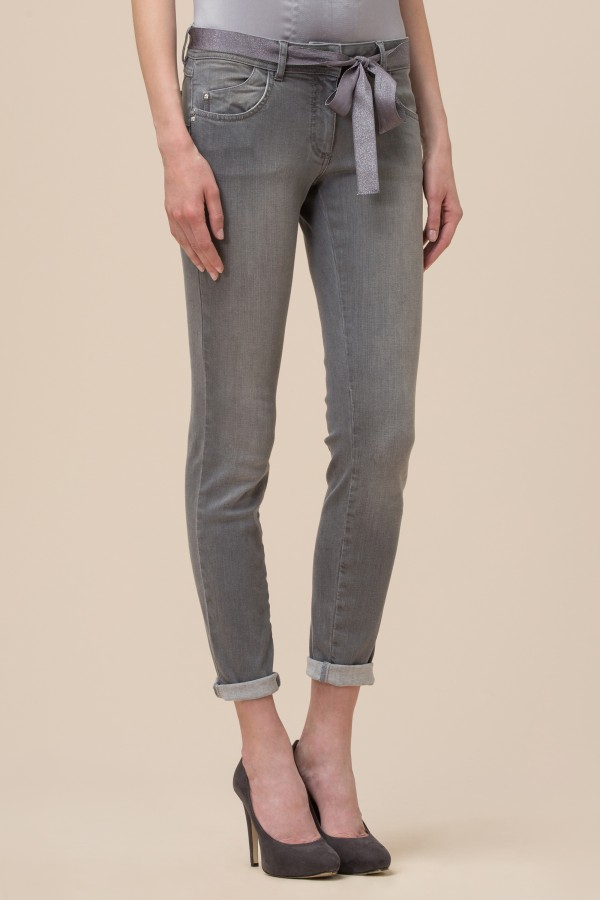 Pantalone Skinny Jeans Luisa Spagnoli Inverno 2017