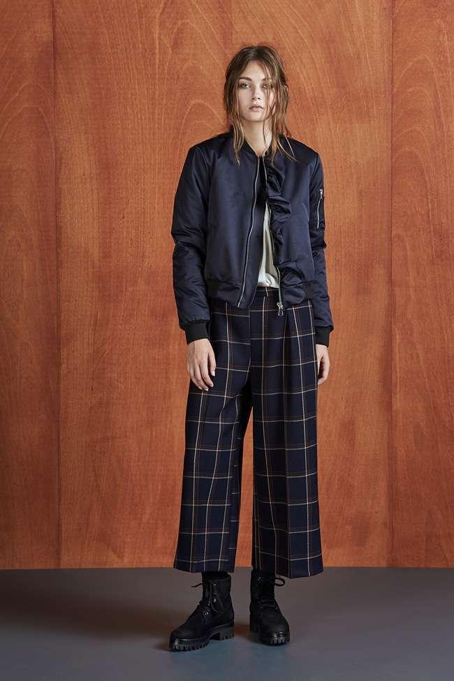 Pantaloni Culotte A Quadri Dixie Autunno Inverno 2017