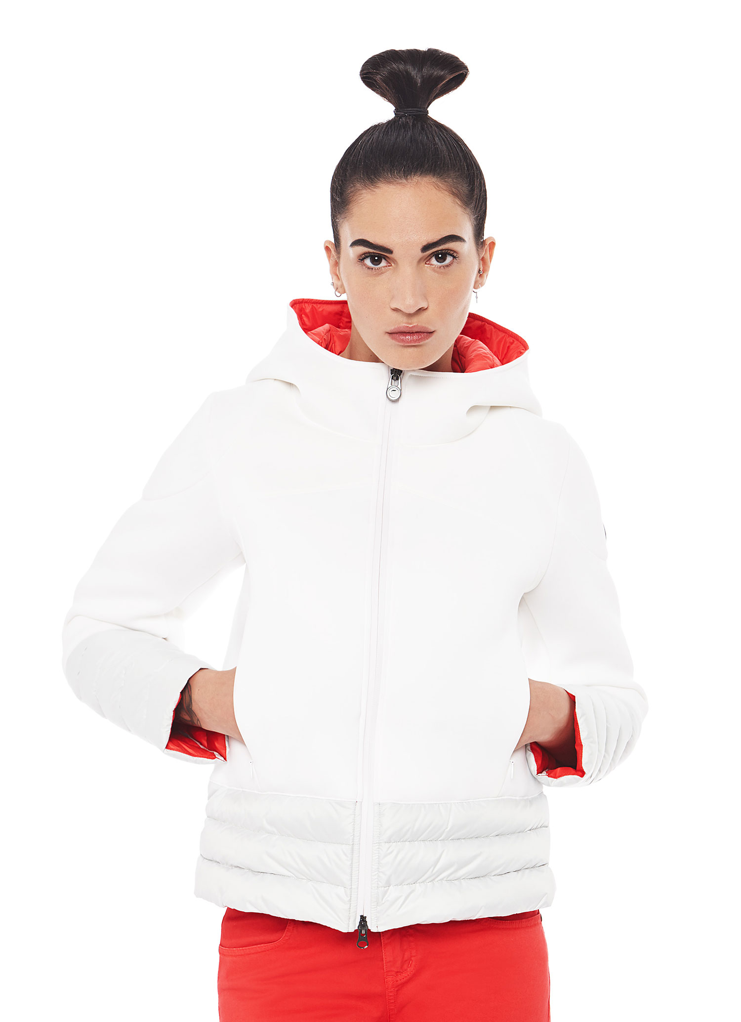 online retailer 6bb43 a2105 Piumino Donna Effetto Neoprene Colmar Inverno 2017 | Moda ...