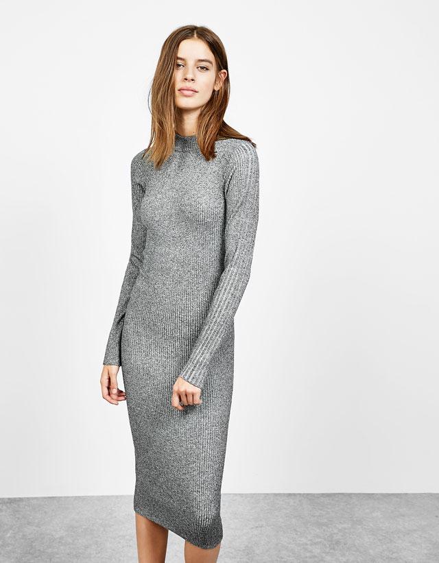 Vestito Di Lana Bershka Autunno Inverno 2017