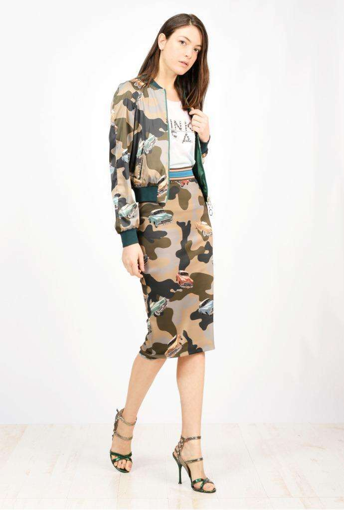 Pinko Camouflage Style