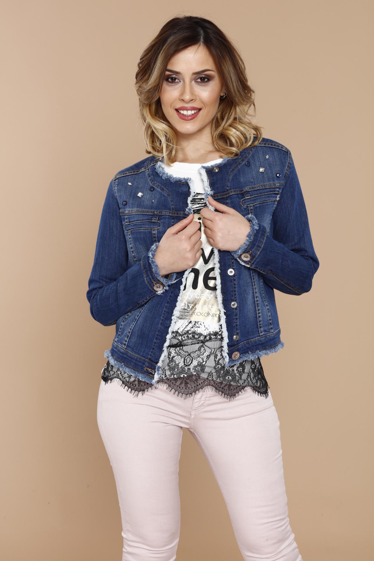 Coconuda Giacchetta In Jeans