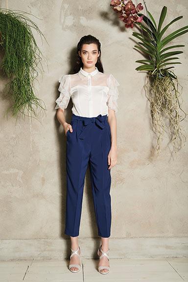 Rinascimento Pantaloni Blu