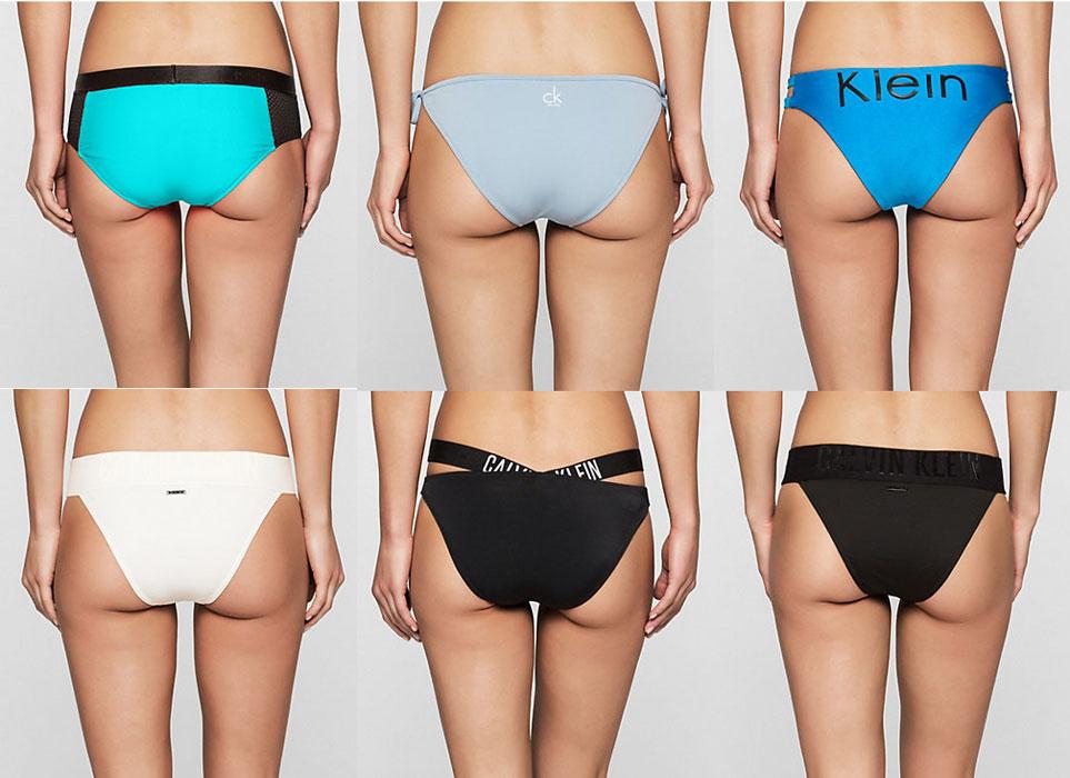 Calvin Klain Primavera Estate 2017 Bikini Bottom