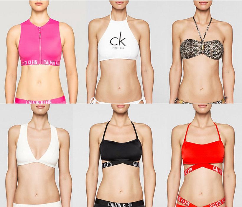 Calvin Klain Primavera Estate 2017 Bikini