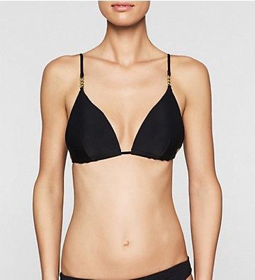 Calvin Klein Bikini Nero Triangolo