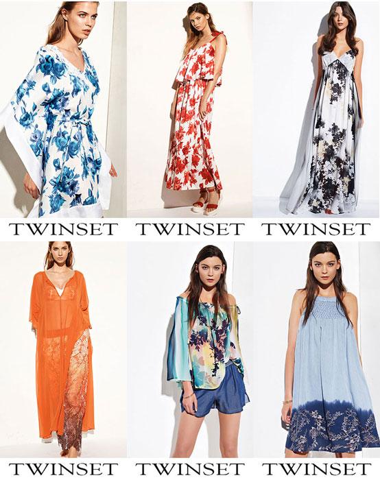 Twinset Primavera Estate 2017 Abbigliamento Da Spiaggia