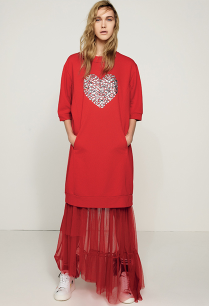 Twinset Outfit Rosso
