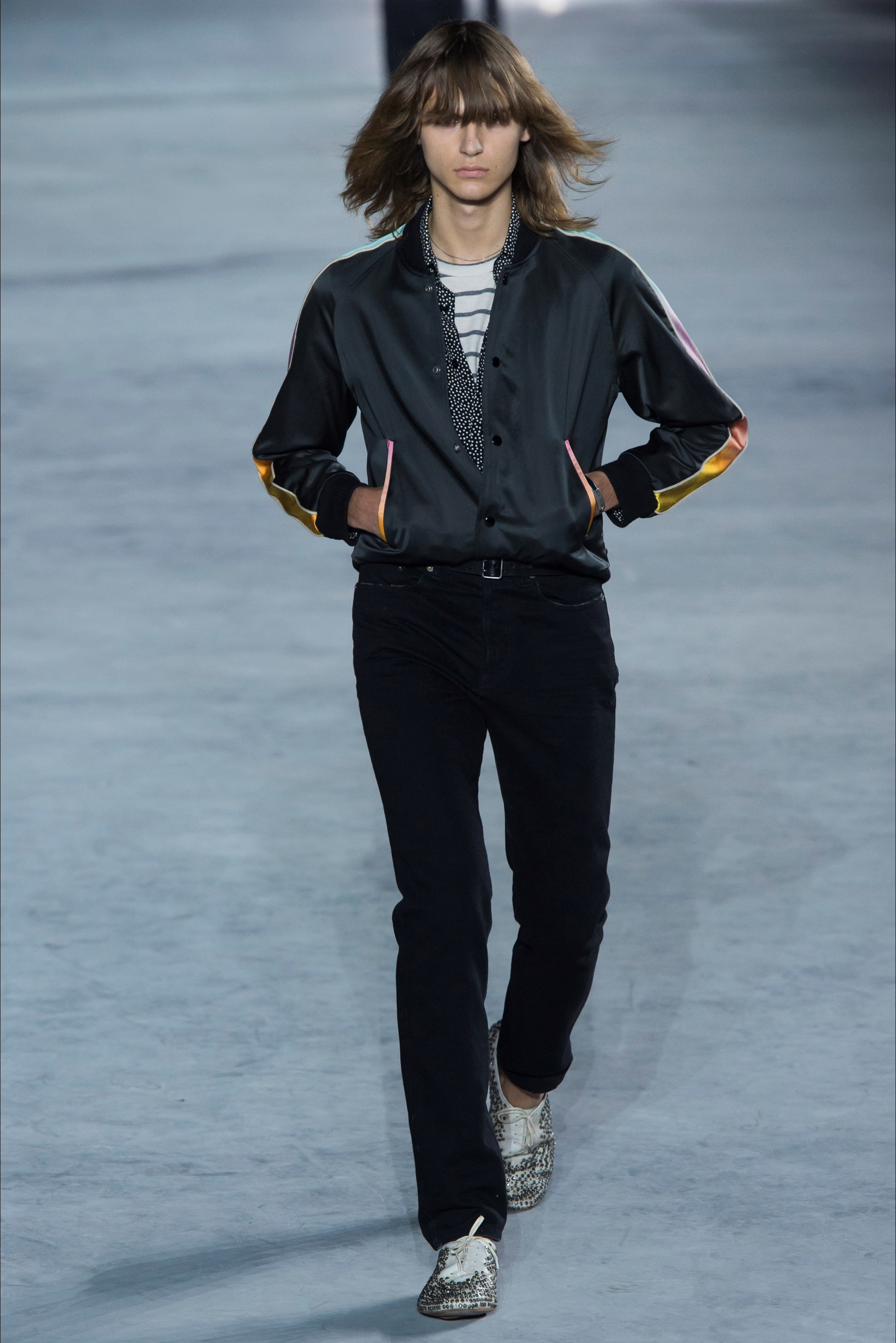 Bomber Americano Saint Laurent