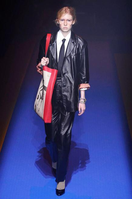 Completo Androgino Elegante Gucci
