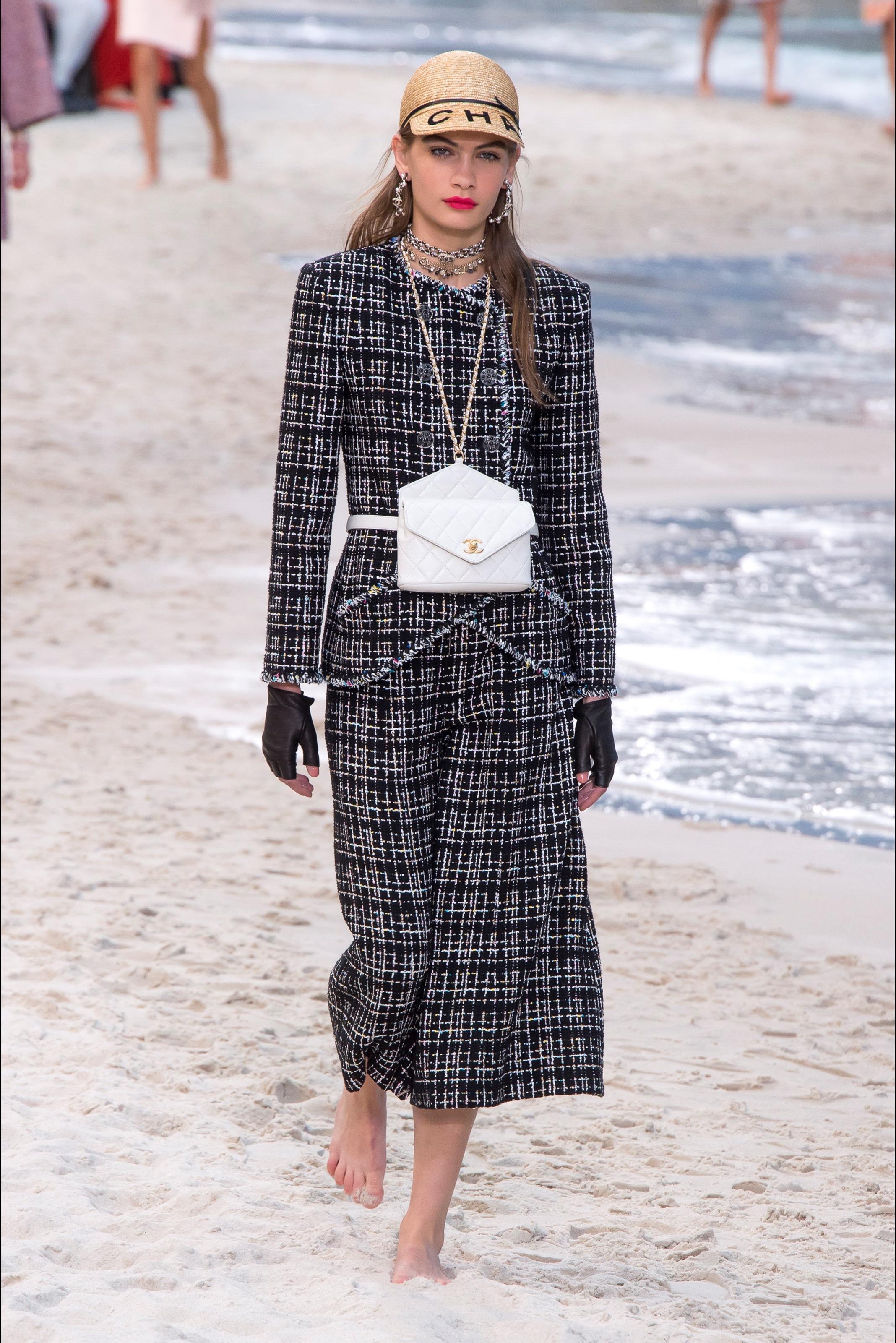 Chanel Completo Elegante A Quadri